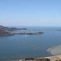 久美浜湾と小天橋