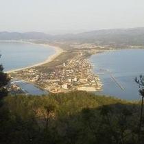 ジジラ山からの眺め