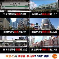主要駅からのアクセス★
