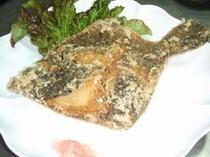 メイタカレイ、メチガレの唐揚です