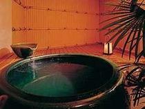 貸切専用の露天風呂は2つ  満天の湯