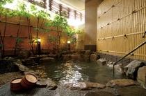ホテル花更紗露天風呂