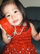 貸衣装赤いドレス
