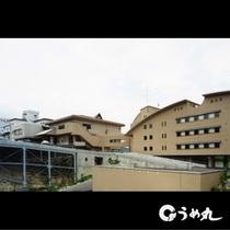 外観イメージ、別館ミヨシ(右)