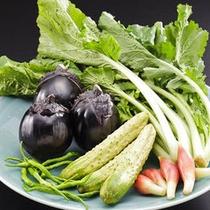 当館のお料理には、大和の伝統的な素材≪大和野菜≫を使用しております。