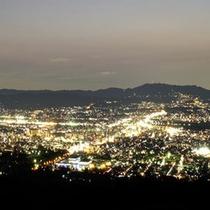 きらめく光にうっとり♪奈良市内の夜景を一望!