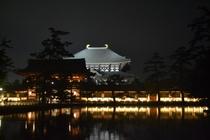 東大寺大仏殿ライトアップ