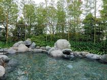 【水着露天ゾーン】竹林の湯