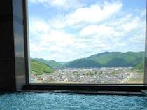 展望風呂からの景色