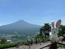 かちかち山からの富士山