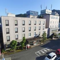 ホテル外観_上空より