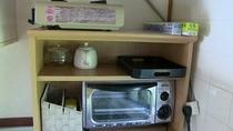 オーブントースター・カセットコンロ