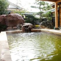 露天風呂【日高石庭の湯】 午前:女性 / 午後:男性