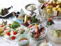 夏の里山料理