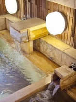 貸切風呂VIPタイプ 檜内風呂