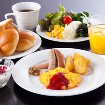 北の家族 洋朝食