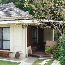ガーデンハウス入り口