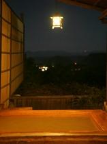 金泉露天の夜景