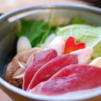 【夕食・鴨鍋】