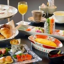 ご朝食は和食・洋食からお選びいただけます。洋食は先着5組様まで。