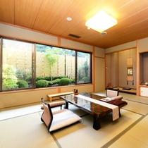 ◆2015年7月リニューアル◆【禁煙】和室 半露天風呂+庭園