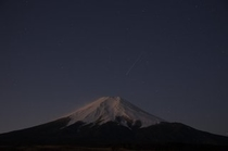 富士山9  こぐま流星群