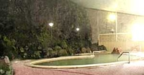 大浴場岩風呂