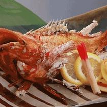 """*キンキンの塩焼き/脂ののった高級魚""""キンキン""""をどうぞお召し上がりください。"""