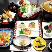 【夕食】スタンダードプラン食事例