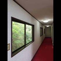 昭和レトロな廊下