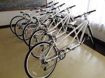 2人乗り貸し自転車