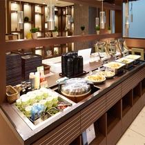 【Lohas無料健康朝食】和食を中心に毎日日替わりメニューです!