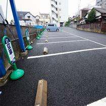第一駐車場【連泊優先*先着順*500円/1泊】