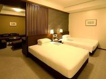 ジュニアスイート 寝室