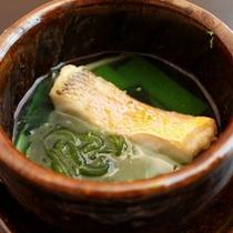 【8月の逸品】天然甘鯛と海素麺の小鍋仕立て