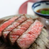 【お料理一例】増田牛 朴葉焼き