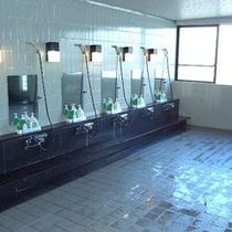 ■大浴場洗い場
