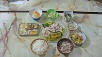 夕食(日替わり)