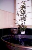 信楽焼陶器風呂