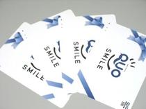 QUOカード付プラン。500円・1000円・1500円・2000円からお選びいただけます♪