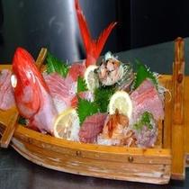 金目鯛の船盛