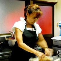 【料理は女将の手作り♪】
