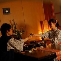 【レストラン半個室】大切な人と乾杯