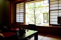 個室料亭からの景色