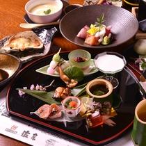 "*お夕食一例(懐石料理""月"")"