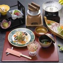 お料理例【海鮮しゃぶ会席】