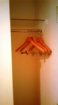 客室のハンガースペース