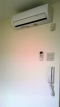 客室の個別冷暖房空調機
