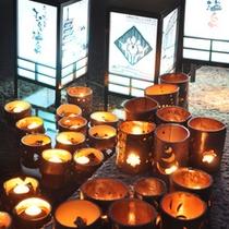 玉名温泉あったか物語の時期は灯りでおもてなし