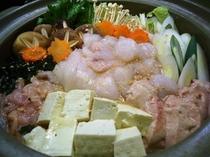 あんこう鍋(冬季)